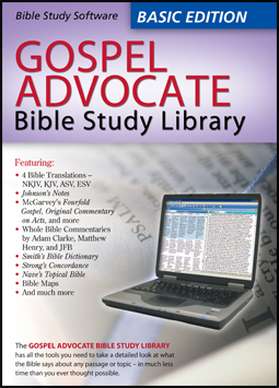 Special Online Offer: GA Bible Study Library – Basic Edition