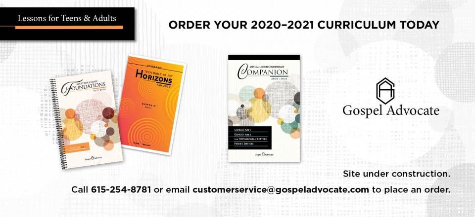 Order 2020-2021 curriculum
