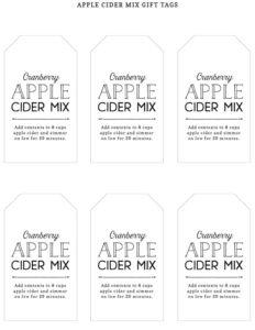 AppleCiderMix_GiftTags