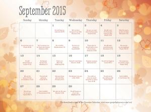 Sept Calendar