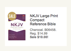 NKJV Compact Reference